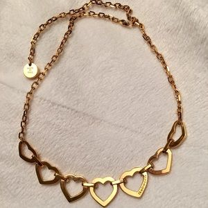 Gold Rebecca Minkoff Necklace Made in Italy!